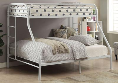 Image for Tritan White Twin XL/Queen Bunk Bed