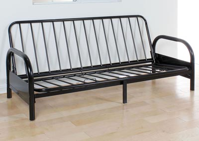 Image for Alfonso Black Futon
