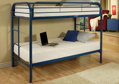 Thomas Blue Twin/Twin Bunk Bed,Acme