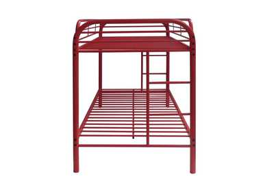 Thomas Red Twin/Twin Bunk Bed,Acme