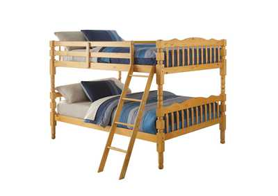Homestead Natural Full/Full Bunk Bed,Acme