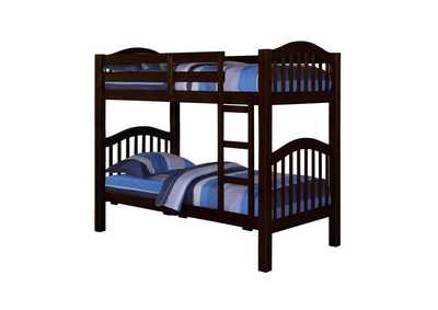 Image for Heartland Espresso Twin/Twin Bunk Bed