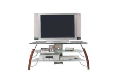 Martini Brown/Chrome TV Stand