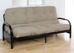 Image for Nabila Khaki Queen Futon Mattress