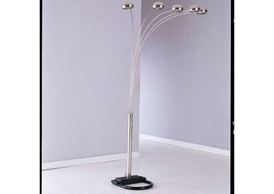 Image for Lamp Nickel Floor Lamp