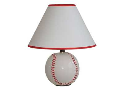 Image for All Star Baseball Table Lamp (Set-8)