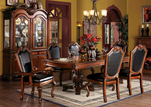 Image for Chateau De Ville Cherry Hutch & Buffet