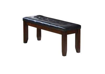 Image for Urbana Black/Cherry Bench