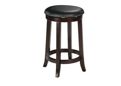 Image for Chelsea Espresso Counter Height Stool w/Swivel (Set-2)