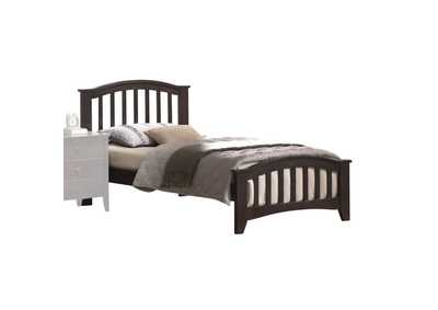 Image for San Marino Dark Walnut Full Bed
