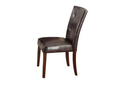 Danville Espresso Side Chair (Set-2)
