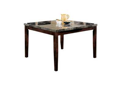 Image for Danville Black Marble/Walnut Counter Table