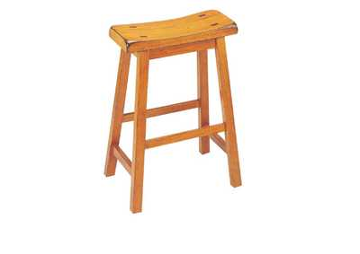Image for Gaucho Oak Counter Stool (Set of 2)