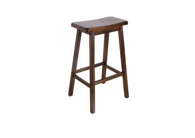 Image for Gaucho Walnut Bar Stool (Set-2)