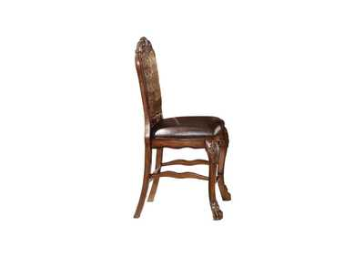 Image for Dresden PU & Cherry Oak Counter Height Chair