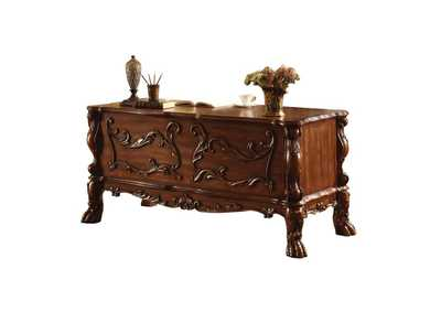 Image for Dresden Cherry Oak Executive Desk