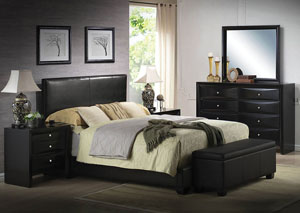 Image for Ireland III Black Eastern King Platform Bed