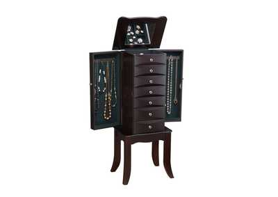 Image for Teresa Java Jewelry Armoire