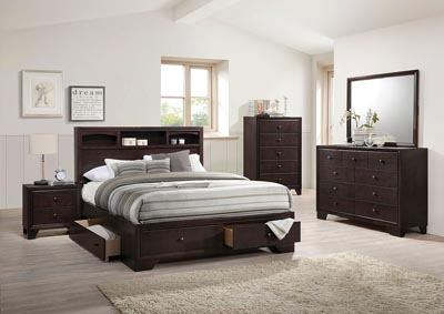 Madison II Espresso Queen Bed