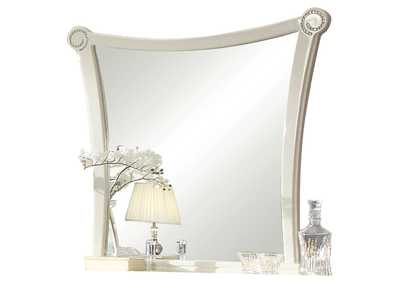 Image for Bellagio Ivory High Gloss Mirror