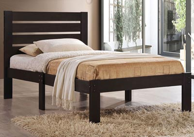 Image for Kenney Espresso Twin Panel Bed