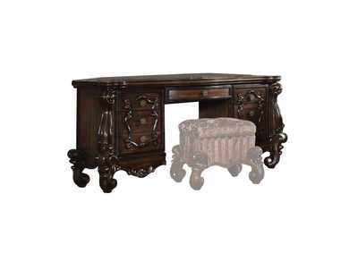 Image for Versailles Cherry Oak Vanity Desk