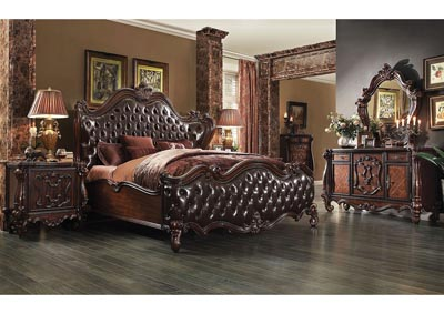 Image for Versailles Two-Tone Brown/Cherry Oak California King Bed