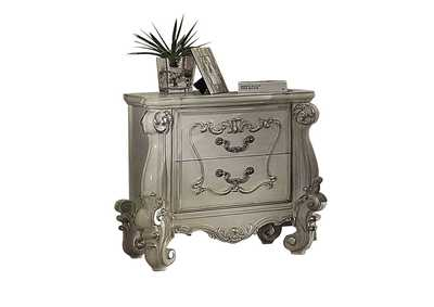 Versailles Bone White Nightstand,Acme