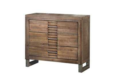 Image for Andria Reclaimed Oak Nightstand