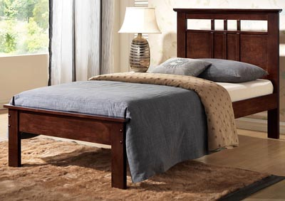 Image for Donato Cappuccino Twin Bed