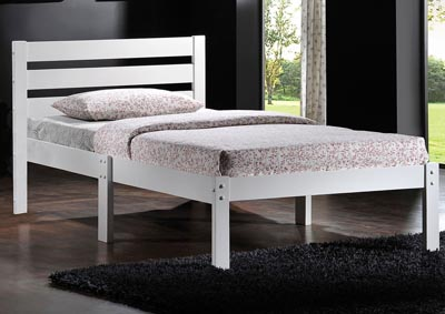 Image for Donato White Twin Bed