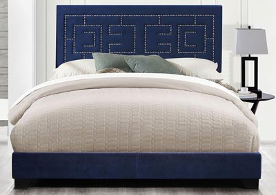 Image for Ishiko III Blue Queen Bed