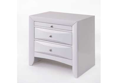 Ireland White Nightstand,Acme