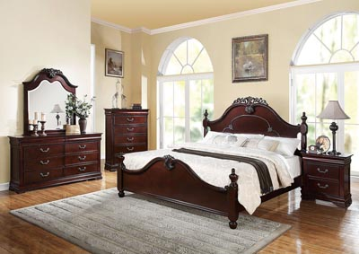 Image for Gwyneth Cherry California King Bed