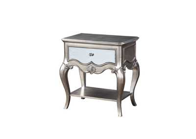 Esteban Antique Champagne Nightstand,Acme