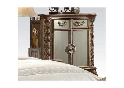 Vendome Gold Patina & Bone Chest,Acme