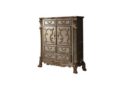 Dresden Gold Patina & Bone Chest,Acme
