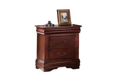 Louis Philippe Cherry Nightstand,Acme