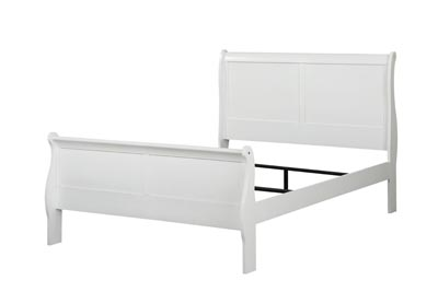 Image for Louis Philippe White Full Bed