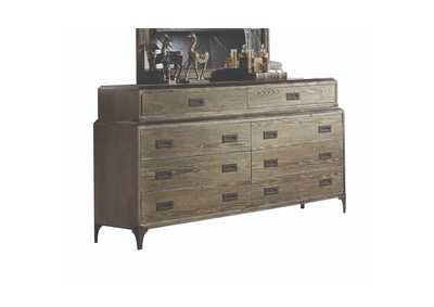 Athouman Weathered Oak Dresser,Acme