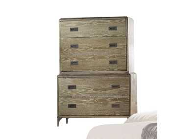 Athouman Weathered Oak Chest,Acme