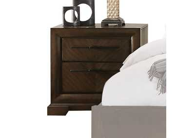 Selma Tobacco Nightstand,Acme