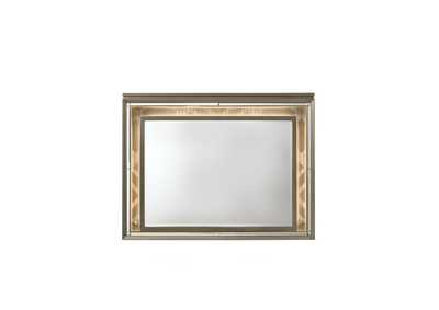 Skylar Champagne Dresser and Mirror,Acme