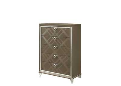 Skylar Dark Champagne Chest,Acme