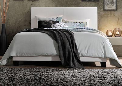 Image for Lien White Twin Bed