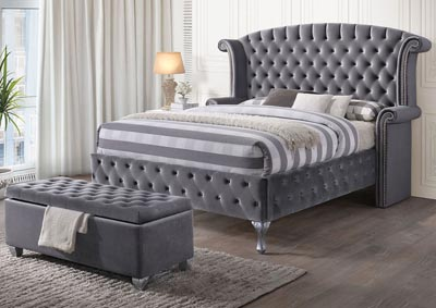 Rebekah Gray Queen Bed
