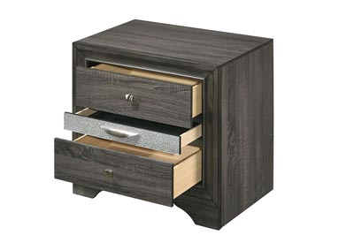 Naima Gray Nightstand,Acme