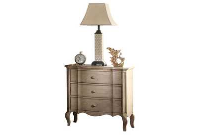 Chelmsford Antique Taupe Nightstand,Acme
