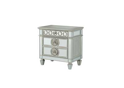 Varian Mirrored Nightstand,Acme