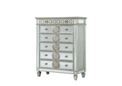 Varian Mirrored Chest,Acme